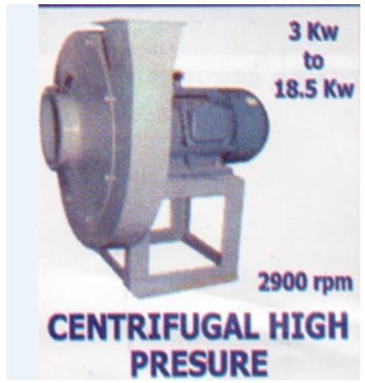 Jual Centrifugal Fan High Pressure